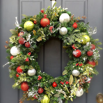 christmas-wreath-front-door