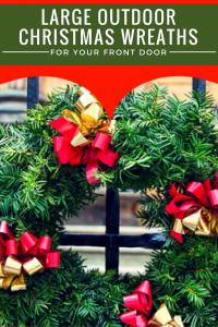 Large Christmas Wreath Outdoor