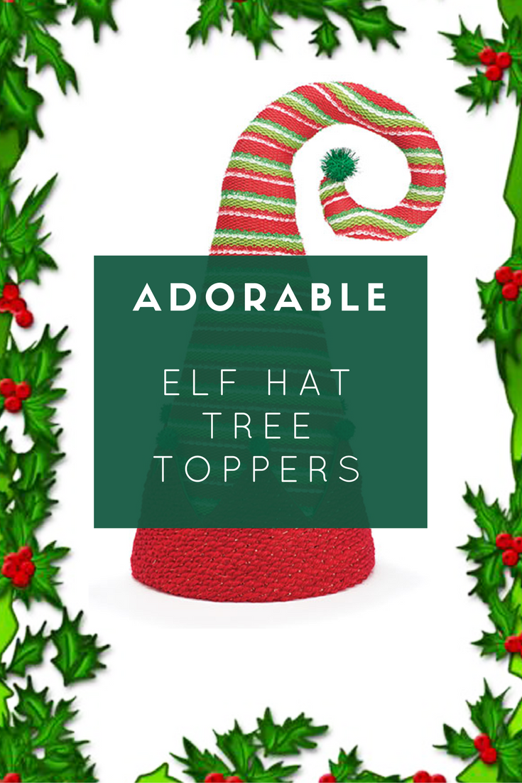 Elf Hat Christmas Tree Toppers