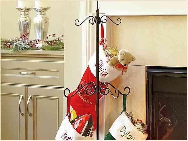 Christmas stocking holder stand christmas prep