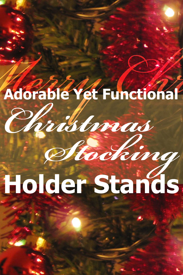 Christmas Stocking Holder Stands