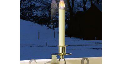 Christmas candle window light