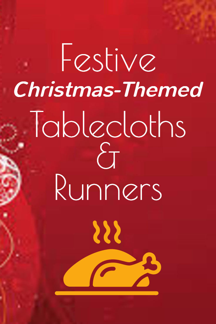 Festive Christmas tablecloths and runners