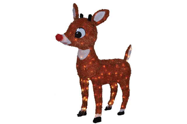 Light Up Rudolph Reindeer Yard Decoration