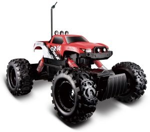 Maisto RC Rock Crawler Radio Control Vehicle red