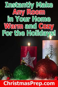 Christmas Tree Scented Candles For an Instant Cozy Room