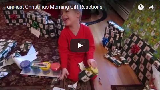 Funny Kids Christmas Morning Gift Reactions