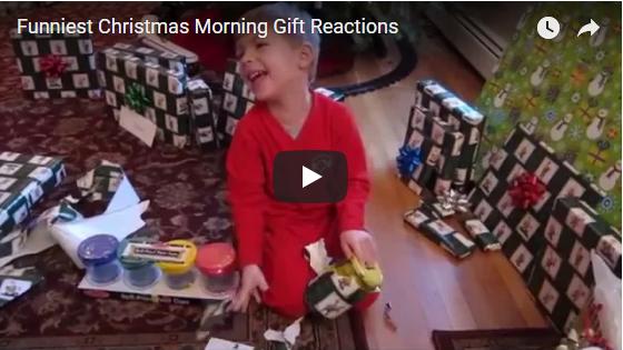 Funny Kids Christmas Morning Gift Reactions
