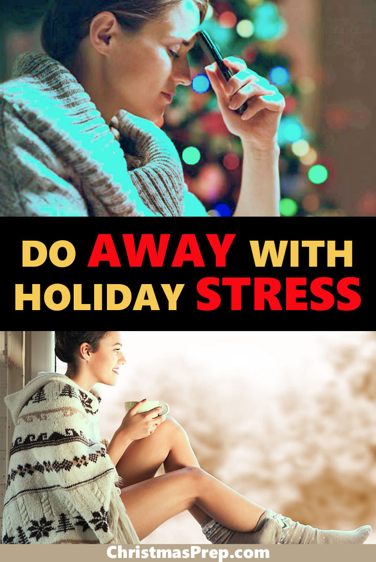 Discover how to reduce holiday stress quickly and easily