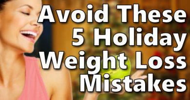 Avoid these 5 mistakes when trying to lose weight for the holidays