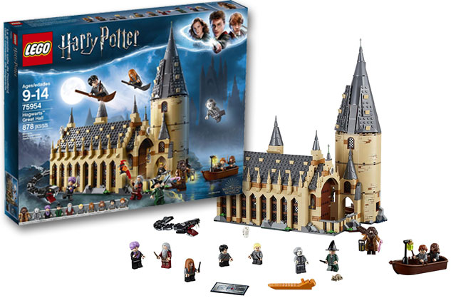 Lego Harry Potter 2018 Hogwarts Great Hall Building Kit review