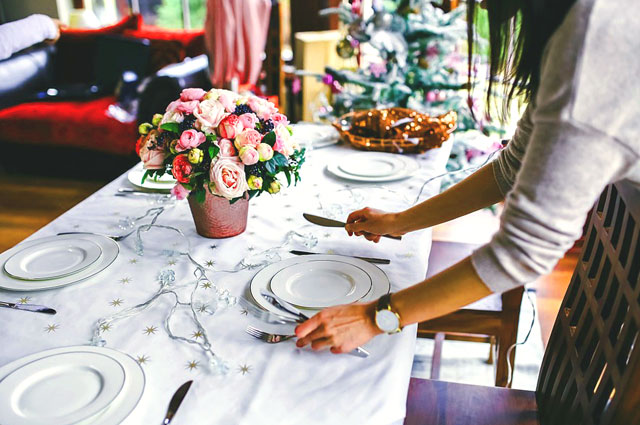 Hosting a holiday party at home - tips for success