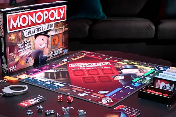 Monopoly Cheaters Edition Table Board Game Living Room