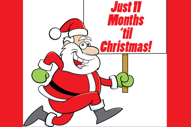 11 Months Til Christmas