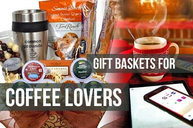 Gift Basket For Coffee Lovers Featured