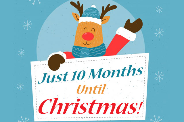 10 Months Til Christmas