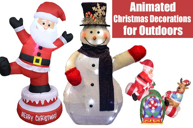Animated Christmas Decorations Outdoors