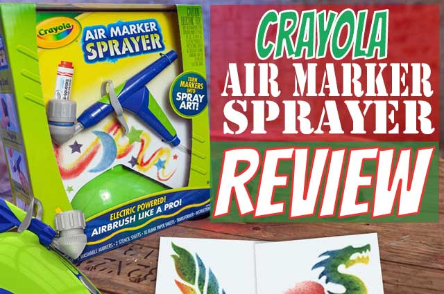 Crayola Air Marker Sprayer Toy
