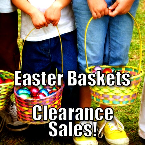 Easter Baskets Clearance Sales