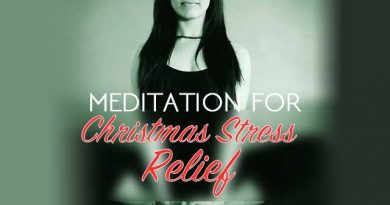 Quick Meditation For Christmas Stress Relief