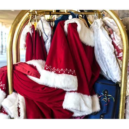 Santa's Clothes Dry Cleaning