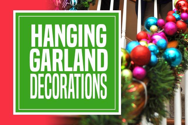 Hanging Garland Decorations