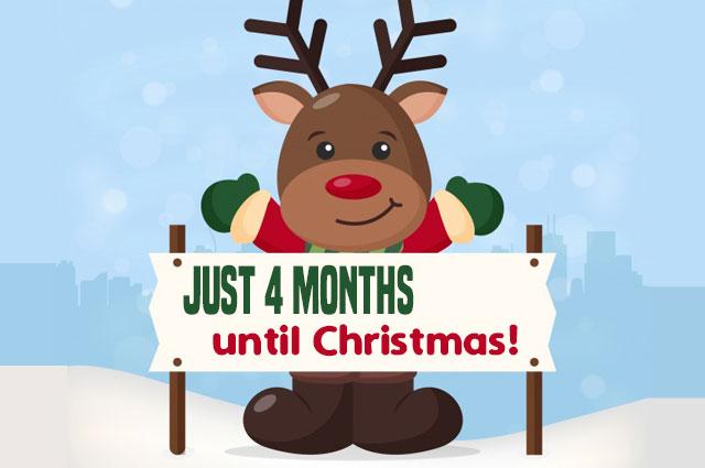 4 Months Til Christmas
