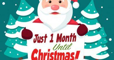 1 Month Til Christmas